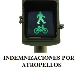 Indemnización por atropello